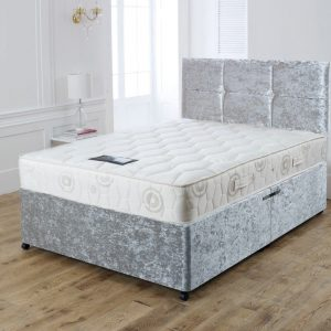 Crushed Velvet Bed